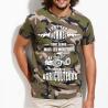 """Tee shirt personnalisé camouflage """"Hommes égaux agriculteurs"""""""