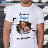"""Tee shirt personnalisé photo et texte """"Je suis un papa qui déchireee ..."""""""