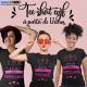 T-shirts personnalisés, humour, Evjfs, Equipe de la mariée, Future mariée