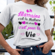"""Tee shirt Enfant """"Marraine c'est la meilleure, elle et moi c'est pour la vie"""""""