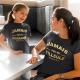 """Duo T-Shirts """"Jamais sans ma marraine / Jamais sans ma filleule unis pour le vie"""""""