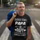 """T-shirt personnalisé """"J'ai deux titres Papa et Papi"""""""
