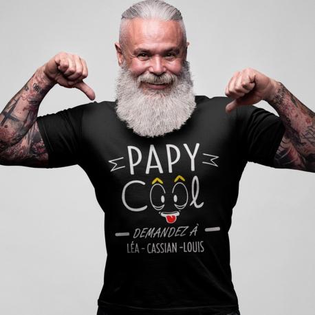 T-shirt personnalisé Papy Cool
