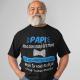 T-shirt personnalisé Papi, meilleur des cadeaux.