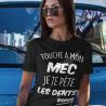 """T-shirt """"Jamais sans ma poule"""""""