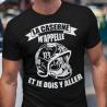 """Tee shirt personnalisé """"La caserne m'appelle et je dois y aller"""""""
