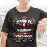 """T-shirt Personnalisé """"Fière mamie de magnifiques petits-enfants"""""""