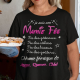 """T-shirt Personnalisé """" Mamie Fée"""""""
