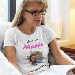 T-shirt Mamie qui déchire