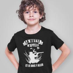 """T-Shirt """"La hutte m'appelle"""""""