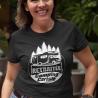 "T-Shirt ""Retraitée Camping Cariste"""