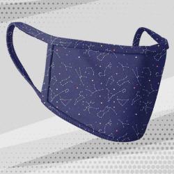 Masque tissu motif zodiaque